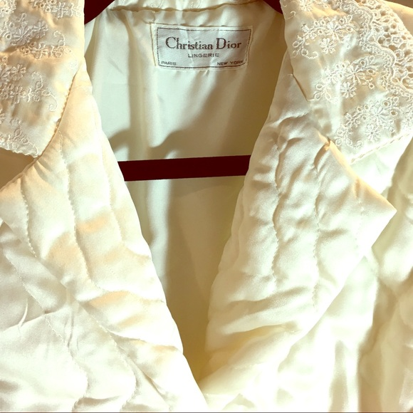 Christian Dior Intimates & Sleepwear | Vintage Dressing Gown Robe ...